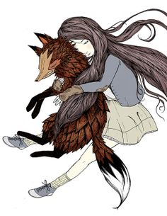 Angry Fox by Marika Paz Illustration on Etsy $20.00 PDX Etsy