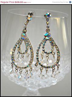 Vintage Kirks Folly Crystal Rhinestone by serendipitytreasure, $25.20