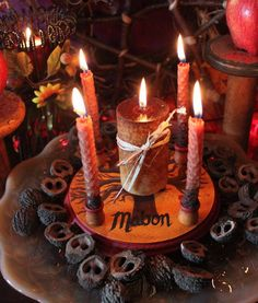slechtain-saire:    Mabon Mini Sabbat kit By: Vermorlian on Etsy