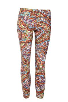 Liquido Carnival Pattern Legging