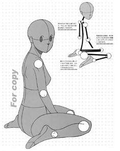 キャラクターをつくろう! 少女イラスト見本帖,制服コレクション編 Manga Basic Pose 12