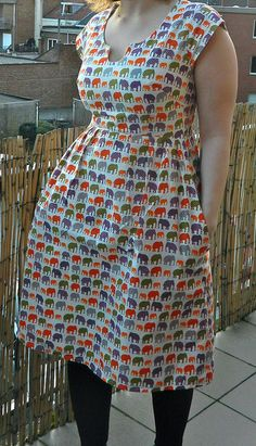 Washi dress by KellyJade, via Flickr. Get the pattern at http://www.made-by-rae.com/washi/