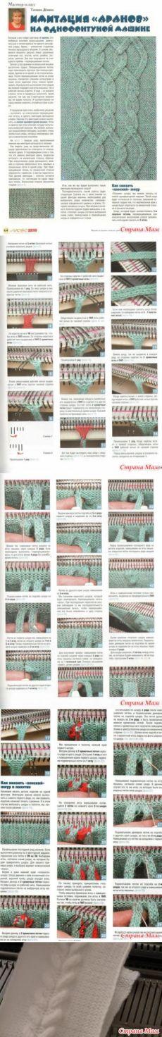 интересные узоры и приспособления для вязания лучшие изображения