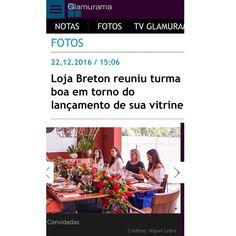 Nosso 1º Vitrine Experience na @bretonoficial foi um SUCESSO!  Acessem o site da @glamurama para ver tudo que rolou por lá.  #1vitrineexperience #breton #lardocecasa #ldcnamidia