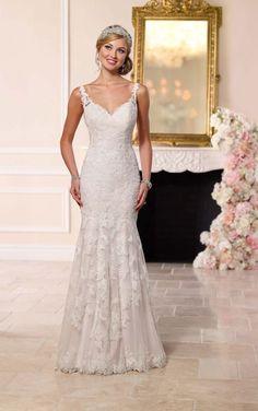 6247 Antique Inspired Wedding Dress by Stella York