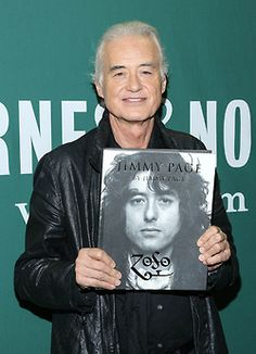 Jimmy Page promotes his new book, 'Jimmy Page By Jimmy Page' at Barnes & Noble Union Square on November 5, 2014 in New York City. (Photo by Rob Kim)