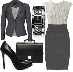 6. Job interview: I would wear this to a job interview because it is very professional looking, conservative, and still cute. I would also wear pantyhose with it.