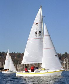 Cal 20 -- great looking raised deck, sloop, too bad they never really made it big on the East coast.