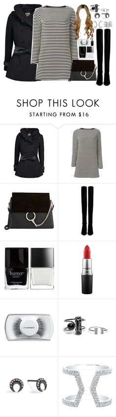 """Frozen Sing-Along & South Bank at Night"" by cutiebluelife ❤ liked on Polyvore featuring ONLY, Chloé, Stuart Weitzman, Butter London, MAC Cosmetics, CFconcept and Stella & Dot"