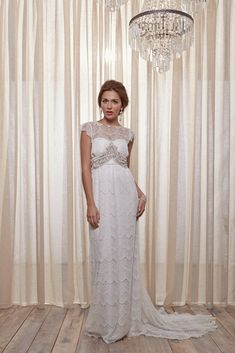 42161fcce541 Anna Campbell Isabelle Embelished Wedding Dress On Sale - Off