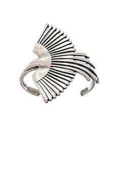 TORCHLIGHT Side Thunderbird Cuff in Antique Silver   REVOLVE