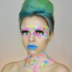 Busy practicing my #NYXFACEAWARDS look so here's another shot of my Jaw Breaker makeup. Makeup details in original post.  Hope you beauties had a wonderful day! I'm going to take a break soon to watch a movie - what's your favourite movie of all time? Let me know in the comments!
