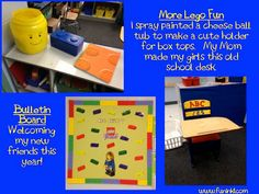 My Lego Classroom!  I love how it turned out.