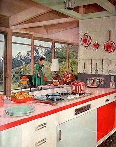 vintage kitchen from 1958