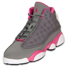 Girl 13's ; Cool Grey / Fusion Pink .