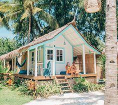 House beach exterior surf shack ideas for 2019 Surf Shack, Beach Shack, Future House, Beach Cottage Style, Beach House Decor, Coastal Cottage, Beach House Colors, Coastal Rugs, Coastal Living