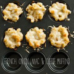 Mini French Onion Mac and Cheese Recipe