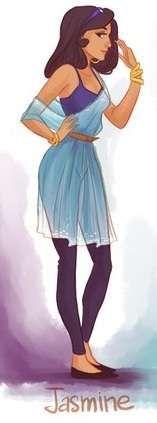 Hipster Princess Depictions : Viria13 Fashion Princesses