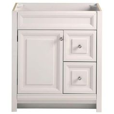 Home Decorators Collection Brinkhill 30 in. W Vanity Cabinet Only in Cream-BHSD30-CR - The Home Depot