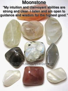 Moonstone is the perfect crystal to work with for enhancing…