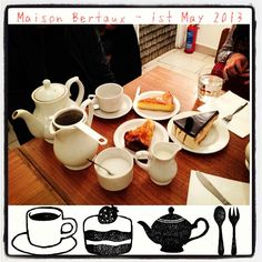 Maison Bertaux is the oldest patisserie in London, and so far the best place for pastries. Enjoy different types of cakes here with a cup of tea!