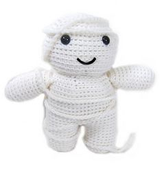 What's Halloween without a mummy? Isn't he adorable?