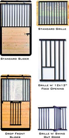 Stall Doors and  Grilles