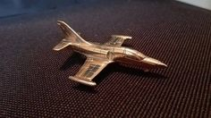 Airplane L-39 Albatros  Bronze / Brass Plane  by GuestFromThePast