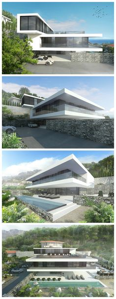 modern 350 m2 beachfront villa in Spain designed by NG architects