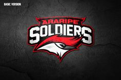 Araripe Soldiers on Behance | American Logo Sport Theme