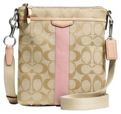 I don't want a Coach bag, but I like bags like this one. Cross over bags