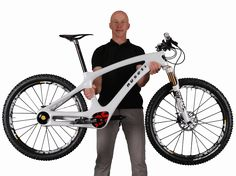 Nuseti is the world's first mountain bike that comes with the inner drive system. It is developed by a national championship winner of mountain bike downhill race.