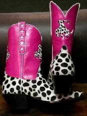 hot pink pony....somebody stop me, I can't stop myself. I love these boots!!!!