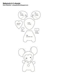 Patroon onderdelen muis