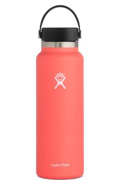 Style Board Hydro Flask 40 Oz, Hydro Flask Water Bottle, Insulated Water Bottle, Water Bottles, Coffee And Tea Accessories, Small Shoulder Bag, Stainless Steel Water Bottle, Bottle Design, Hibiscus
