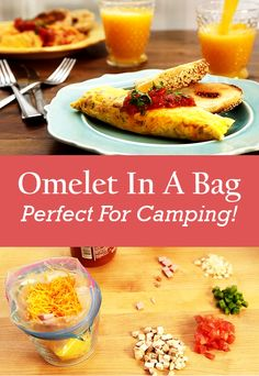 ust add all the stuff you want in your omelet to a bag, boil it and they come out perfect every time!  See video and written instructions here==> | Omelet In A Bag: Quick No Mess Way To Cook Omelets - Perfect For Camping! | http://gwyl.io/omelet-in-a-bag-quick-no-mess-way-to-cook-omelets-perfect-for-camping/