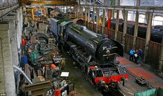 The finishing touches are being made in a workshop in Bury, Greater Manchester, where the world's best known locomotive is nearly back on track thanks to a million restoration project. Coventry, Glasgow Architecture, Heritage Railway, Automobile, Flying Scotsman, Train Art, Holiday Places, Back On Track, Steam Engine