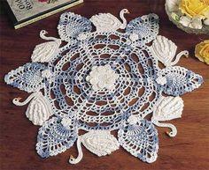 Six Swans-a-Swimming free pattern
