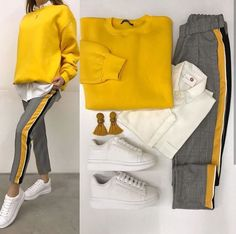 #ootd #streetstyle #casualstyle #winteroutfit #just4fashion Casual Outfits For Girls, Cute College Outfits, Chic Winter Outfits, Simple Summer Outfits, Trendy Outfits, Girl Outfits, Fashion Outfits, Womens Fashion, Everyday Outfits