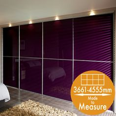 Buy Made to measure 4 door sliding wardrobe from Slide Wardrobes Direct