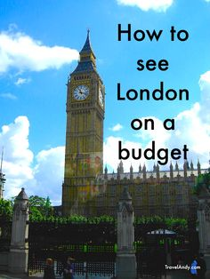 How to see London on a budget
