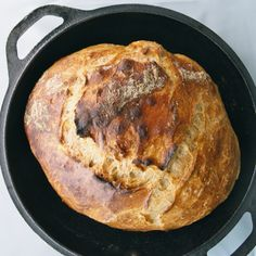 Dutch oven no-knead pumpkin bread
