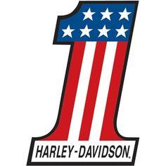 harley davidson number one logo sign 2010191 red white blue rh pinterest com one hd logo harley davidson one logo