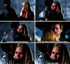 """Killian and Emma - 4 * 16 """"Best Laid Plans"""" #CaptainsSwan"""