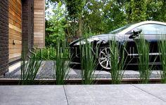 Wellness tuin met luxe terrasoverkapping met sauna en for Ontwerp voortuin met parkeerplaats
