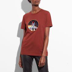 #NewYear #Coach Stores Limited - #Coach Coach Rocket Shuttle T-shirt - AdoreWe.com