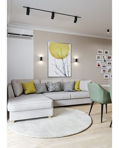 Small Living Room Lighting Ideas Bright Living Room Lighting Ideas ideas living room modern 6 Must-try living room lighting ideas to create an elegant look Living Room Color Schemes, Living Room Grey, Home Living Room, Living Room Decor, Bright Living Rooms, Dining Room, Living Room Colors, Living Room Modern, Living Room Interior