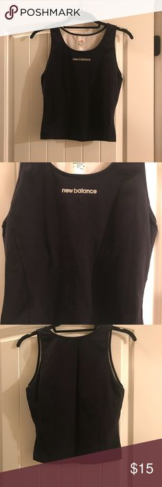 2 New Balance Women's Black sports tops medium Bundle of 2 New Balance Women's Black and Blue sports top worn a few times size medium Intimates & Sleepwear Bras