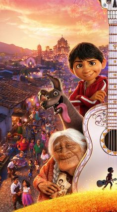 Pixar& Coco: New Poster and Trailer Breakdown - As The Bunny Hops® - Disney Films, Disney Cinema, Disney Pixar, Pixar Movies, Disney And Dreamworks, Disney Art, New Animation Movies, Cartoon Cartoon, Disney Background
