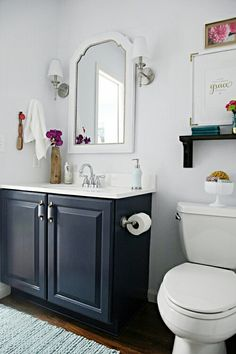 Family Dollar Bathroom Makeover Using This Is The After - Family dollar bathroom makeover